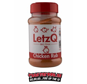 LetzQ LetzQ Award Winning Chicken Rub 350 gram