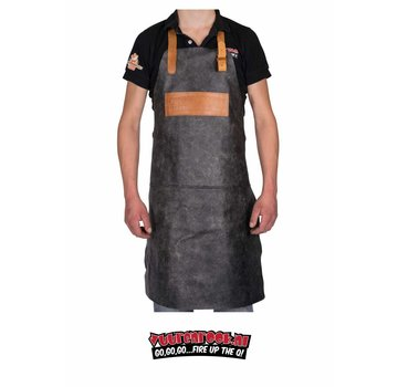 Vuur&Rook  Leather BBQ Apron (Anthracite)