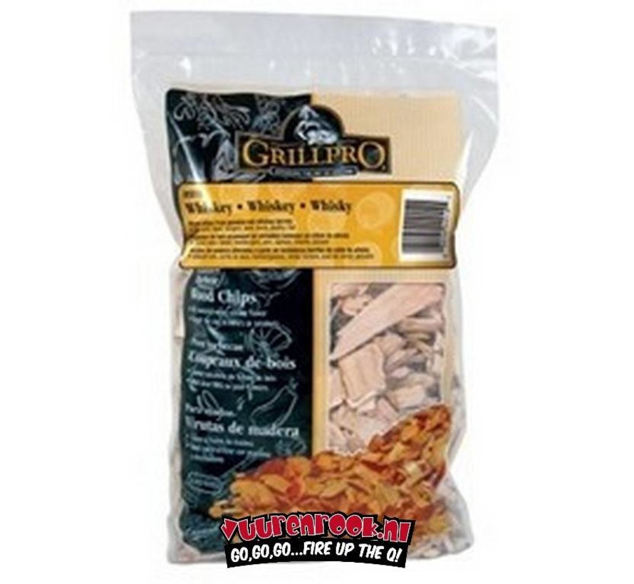 Grillpro Whisky Rookchips 900 gram