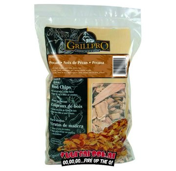 Grillpro Grillpro Pecan Smoking chips 900 grams