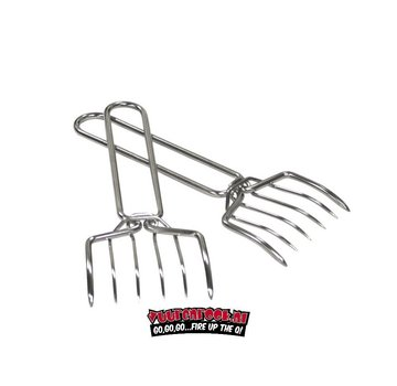 Grillpro GrillPro Meat Claws stainless steel