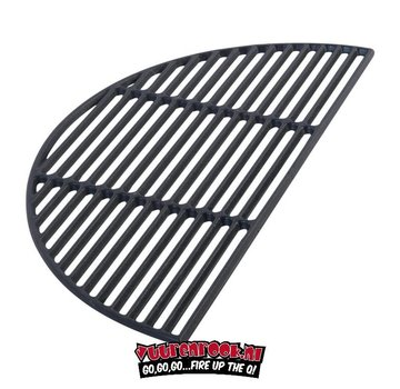 Big Green Egg Big Green Egg Half Moon Cast Iron Grate XLarge