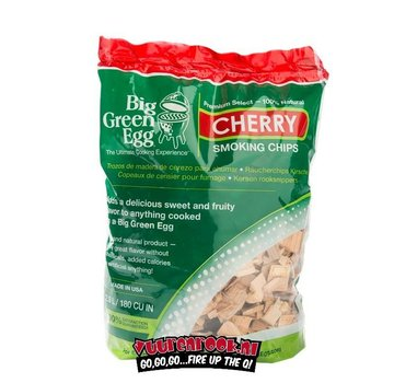 Big Green Egg Big Green Egg Cherry Smoke chips 700 grams