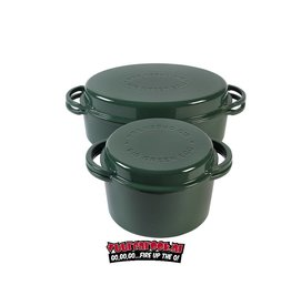 Big Green Egg  Dutch Oven Round + Dutch Oven Oval