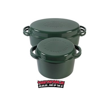 Big Green Egg Big Green Egg  Dutch Oven Round + Dutch Oven Oval