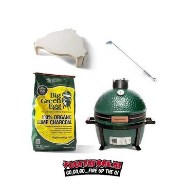 Big Green Egg Big Green Egg MiniMax Action Package!