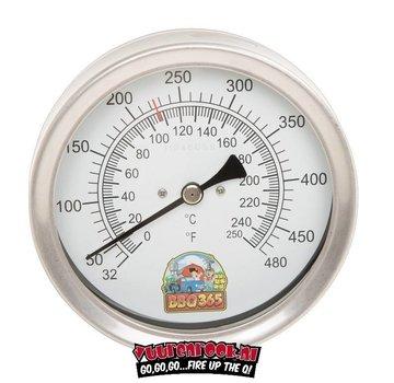 bbq365 BBQ365 Edelstahl Thermometer 150mm
