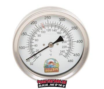 BBQ 365 BBQ365 RVS Thermometer 125mm