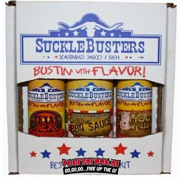 SuckleBusters SuckleBusters Texas BBQ Gift Box