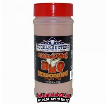 SuckleBusters SuckleBusters Chicken Wing BBQ Rub 12oz