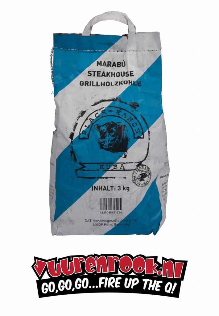 Black Ranch Black Ranch Marabu Cuba Charcoal 3 kg