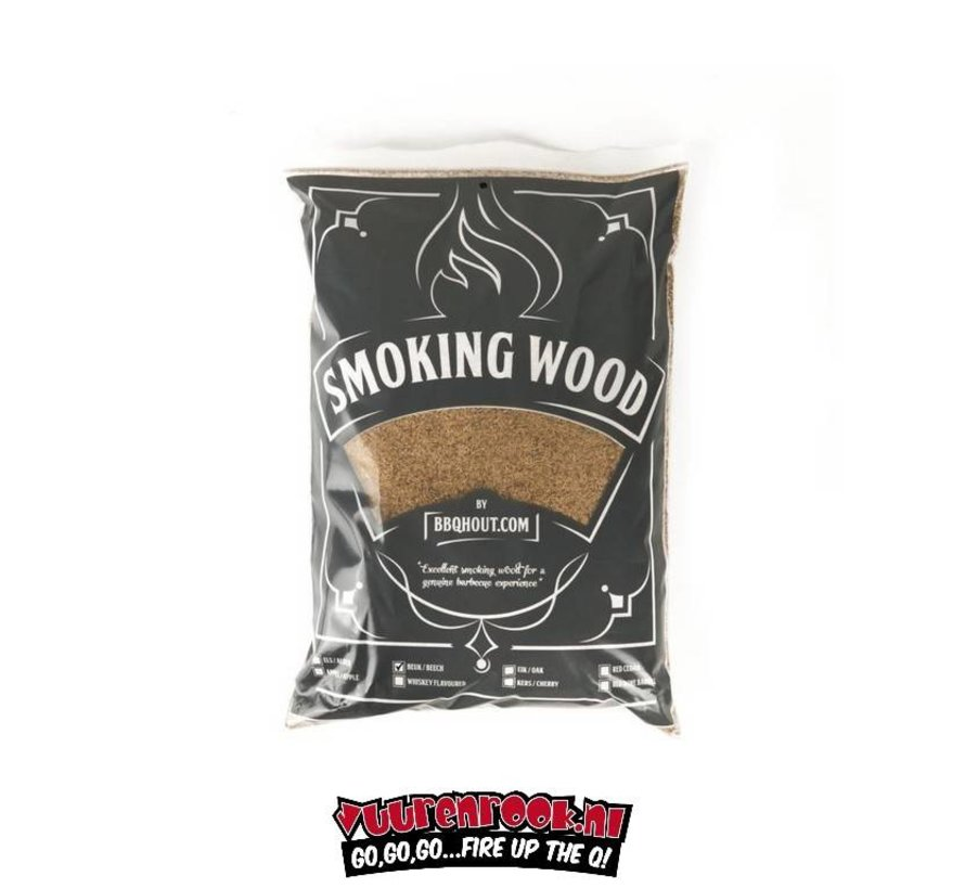 BBQHout.com Beuken Rookmot 1 kilo