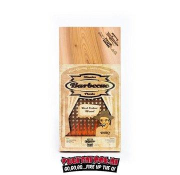 Axtschlag Axtschlag Rook Plank Red Cedar XL 2 stuks
