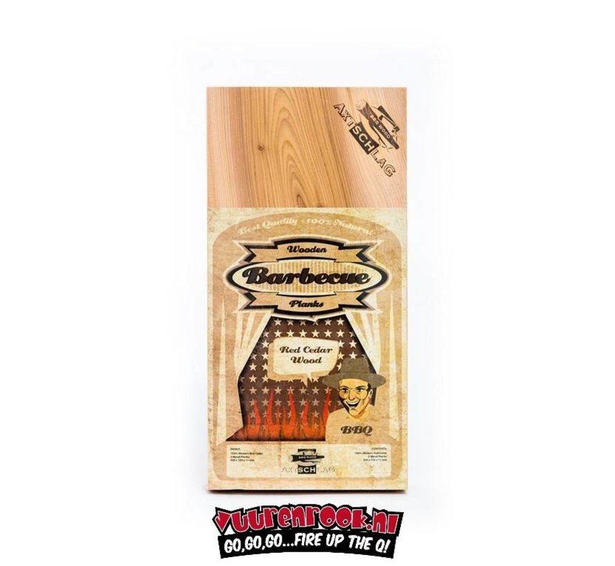 Axtschlag Rook Plank Red Cedar