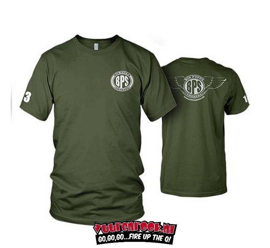 Big Poppa Smokers Mobile Command T-Shirt Large