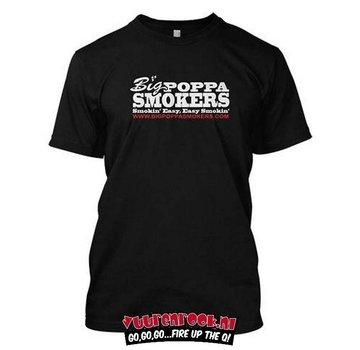 Big Poppa Smokers Big Poppa Smokers Classic Black T-Shirt Xtra-Large