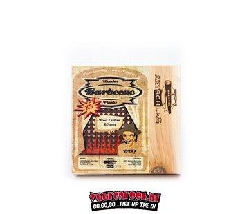 Axtschlag Axtschlag Rook Plank Red Cedar XS 4 stuks