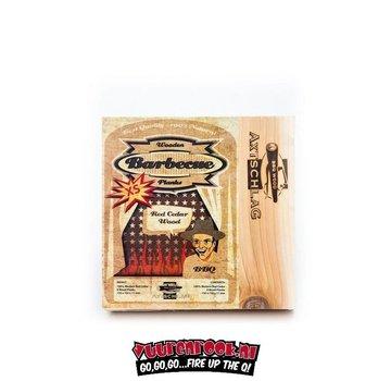 Axtschlag Axtschlag Rook Plank Red Cedar XS 4 Stück