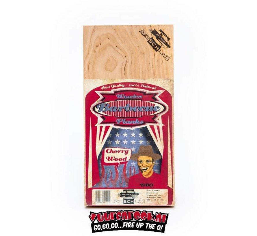 Axtschlag Rook Plank Cherry 3 Stück