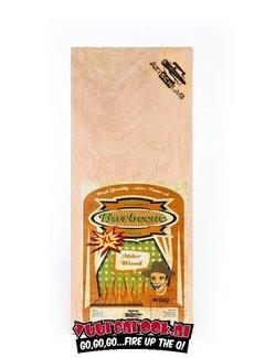 Axtschlag Axtschlag Rook Plank Alder XL 2 stuks