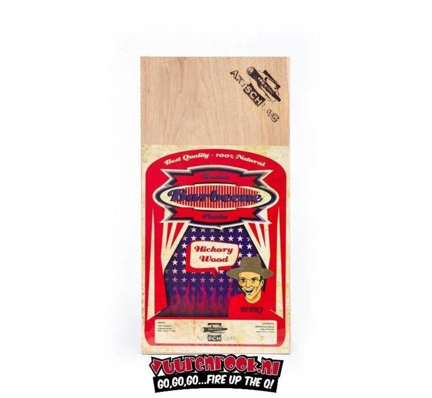 Axtschlag Rook Plank Hickory 3 stuks