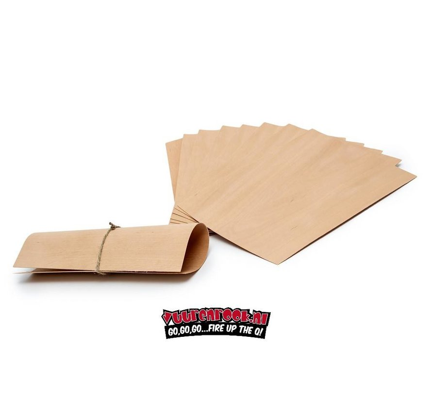 Axtschlag Wood Papers Alder 8 stuks