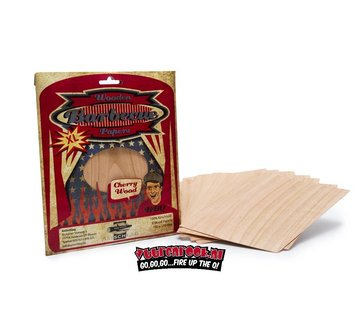 Axtschlag Axtschlag Wood Papers Kers XL 8 stuks