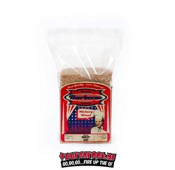 Axtschlag Axtschlag Hickory Rookmeel 1 kilo