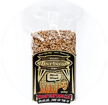 Axtschlag Axtschlag Birch Smoking chips 1 kilo