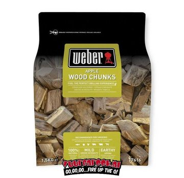 Weber Weber Apple Chunks 1.5 kilos