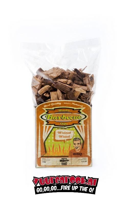 Axtschlag Axtschlag Walnut Smoke chips 1 kilo