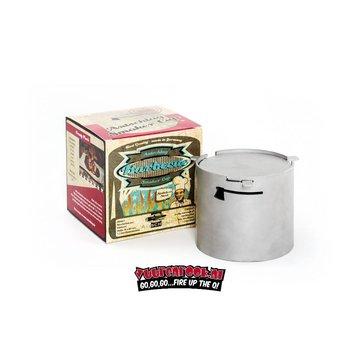 Axtschlag Axtschlag Heavy Duty Edelstahl Smoker Pot