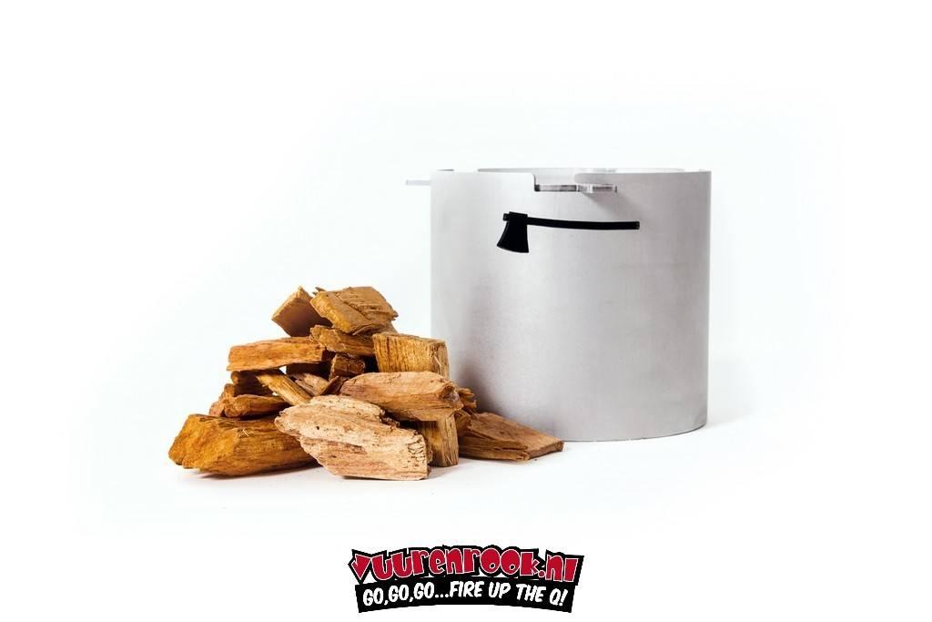Axtschlag Heavy Duty stainless steel Smoker Pot