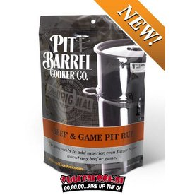 Pit Barrel Cooker Pit Barrel Cooker Beef and Game Rub 2,5LB / 1134 gram