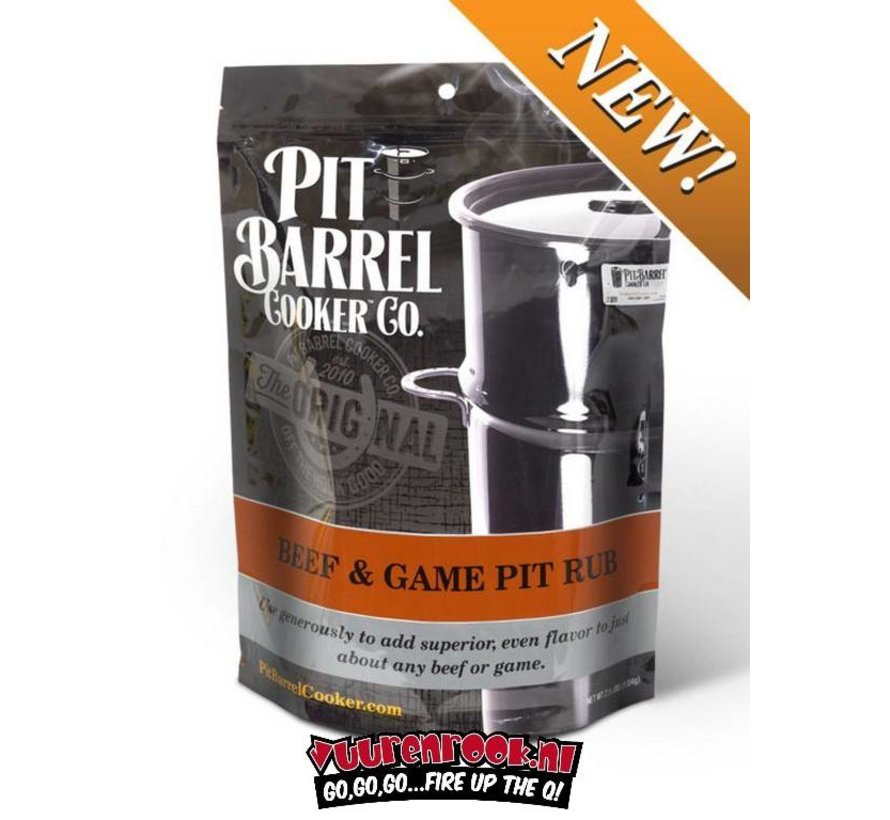 Pit Barrel Cooker Beef and Game Rub 2,5LB / 1134 gram