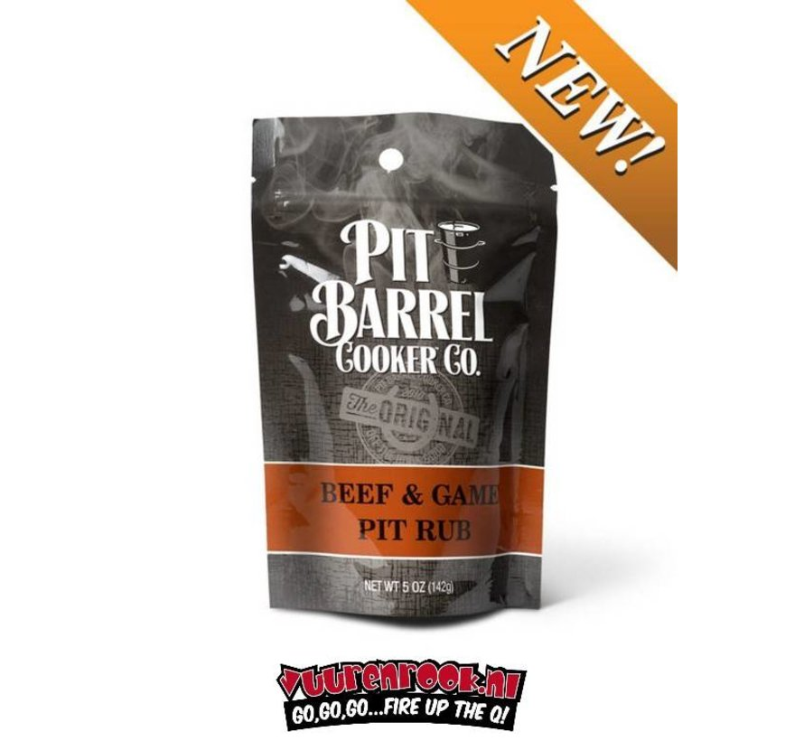 Pit Barrel Cooker Beef and Game Rub 5oz / 142 gram