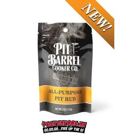 Pit Barrel Cooker Pit Barrel Cooker All Purpose Pit Rub 5oz / 142 gram