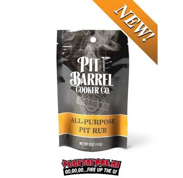 Pit Barrel Cooker Pit Barrel Cooker All Purpose Pit Rub 5oz / 142 grams