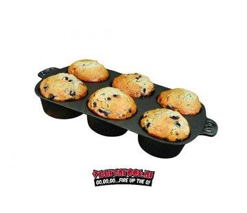 Campchef CampChef Gusseisen-Muffinpfanne