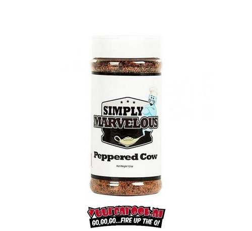 Simply Marvelous Simply Marvelous Peppered Cow 12oz
