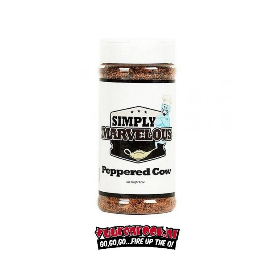Simply Marvelous Peppered Cow 12oz