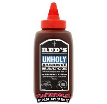 Red Unholy Reds Unholy BBQ Sauce