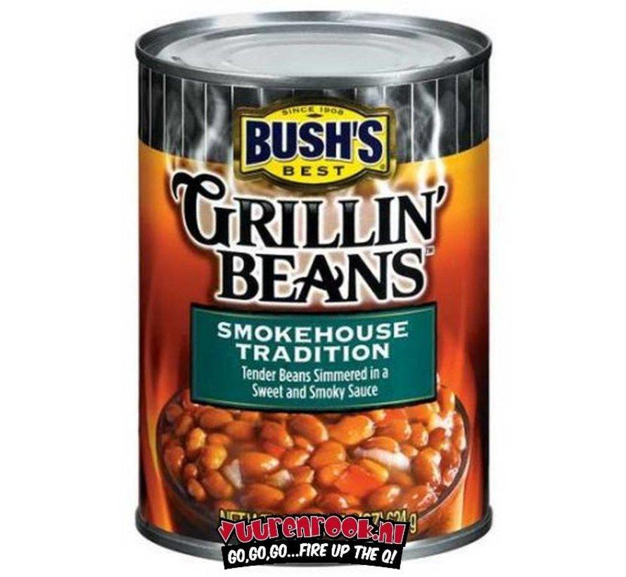 Bush Grillin' Beans Smokehouse Tradition