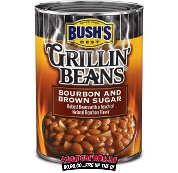 Bush Best Bush Grillin' Beans Bourbon and Brown Sugar