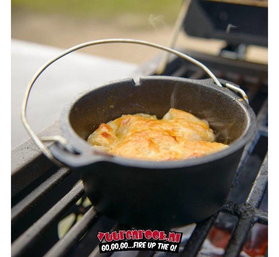 CampChef 3/4 qt Cast Iron Mini Dutch Oven