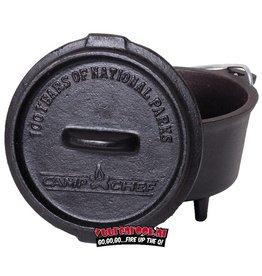 Campchef CampChef 3/4 qt Cast Iron Mini Dutch Oven