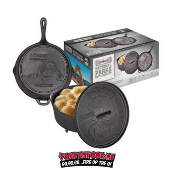 Campchef CampChef National Parks Cast Iron Set