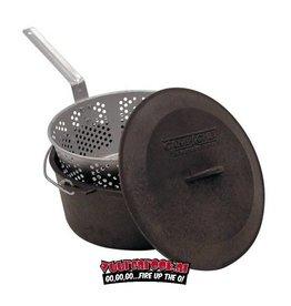 Campchef Campchef Fry and steam oven (Deep Fryer / Steamer) 7 liters including alu basket
