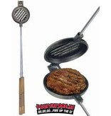 Rome's Industries Rome's Pie Iron Wilderness Burger Griller
