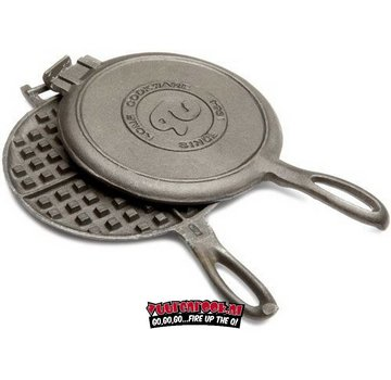 Rome's Industries Rome Pie Iron Old Fashioned Waffle Iron